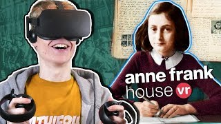 BECOME ANNE FRANK IN VIRTUAL REALITY | Anne Frank House Tour VR Experience (Oculus Rift Gameplay)
