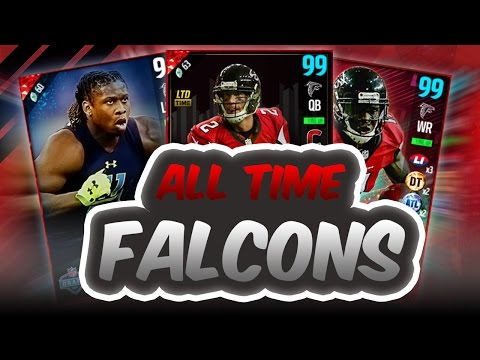 ALL TIME ATLANTA FALCONS SQUAD BUILDER - Madden 17 Ultimate Team