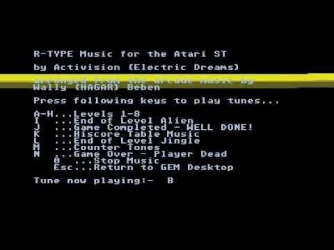 r-type music for Atari ST
