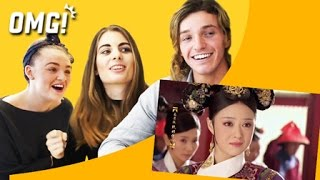 Video British Reaction to Chinese Drama: Empresses in the Palace 英国人组团看甄嬛 download MP3, 3GP, MP4, WEBM, AVI, FLV Mei 2018