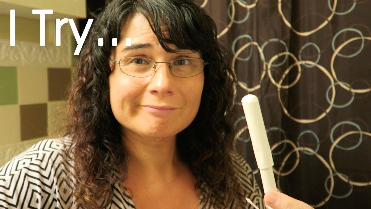 Transgender Woman Tries A Tampon