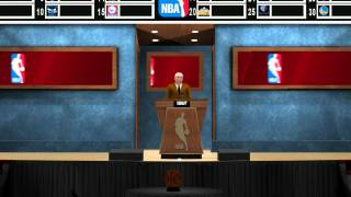 NBA 2K13 PC - Pre-Draft Interviews | Who did I get Drafted by?