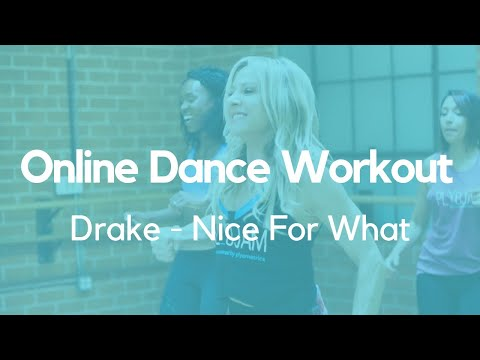 Online Dance Workout | Drake | Nice For What | PlyoJam