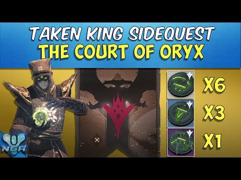 Destiny - Court Of Oryx Quest - Complete - Gameplay - Walkthrough  - PS4