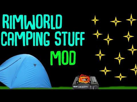 Rimworld Mod Guide: Camping Stuff Mod! Rimworld Mod Showcase