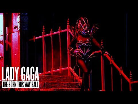 Lady Gaga - Government Hooker Born This Way Ball DVD