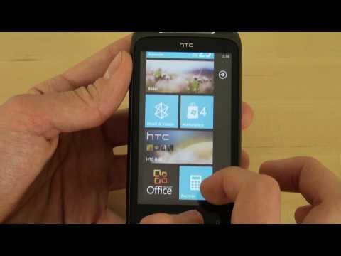 HTC 7 Mozart Test Bedienung