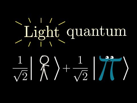Some light quantum mechanics (with minutephysics)