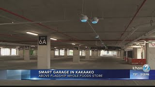 Smart garage adds hundreds of parking stalls to Ward Village