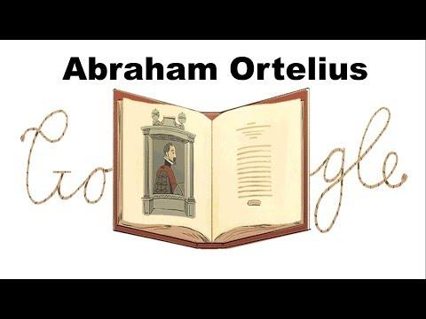Celebrating Abraham Ortelius Google Doodle