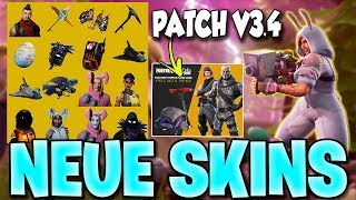 NEW SKINS ! - Patch V3.4 All Info & New Free Things | Fortnite Battle Royale
