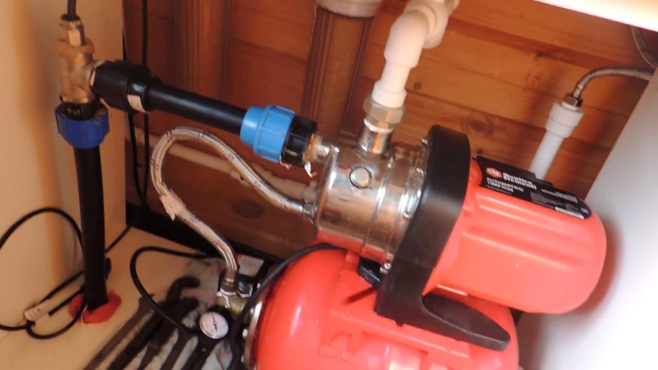 Подключение насосной станции к скважине своими руками фото 631