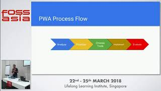 Journey towards Progressive Open Event Webapp - Aayush Arora- FOSSASIA 2018