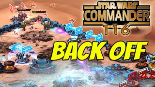 Star Wars Commander Empire #116 - Get out of my base !