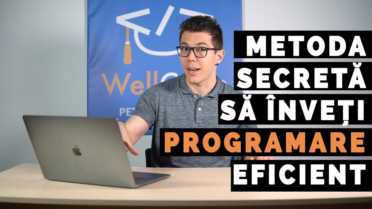 Metoda SECRETĂ să înveți programare mai eficient