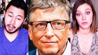 BILL GATES | Inṡide Bill's Brain: Decoding Bill Gates | Official Trailer | Netflix | Reaction