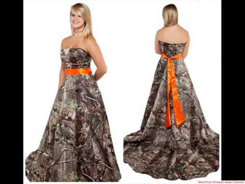 Amazing camo prom dress - The best prom dresses ever!!! - YouTube