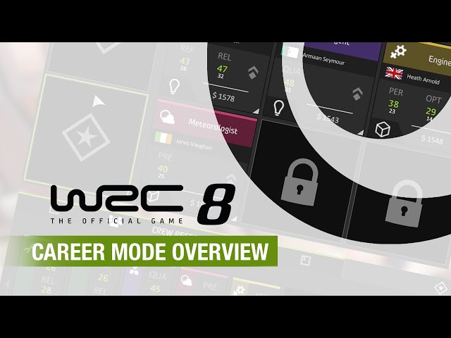 WRC 8 | Career Mode Overview