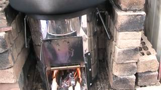 Pressure Canning On a Rocket Stove