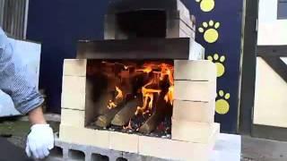 ミニ石窯キットの火力の保ち方
