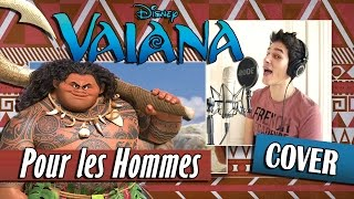 cover pour les hommes vaiana moana beastboy