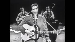 """Elvis performing """"HEARTBREAK HOTEL"""" on Stage Show - March 17, 1956"""