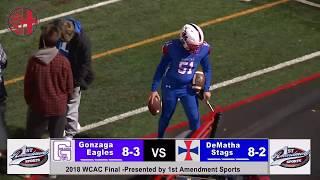 Gonzaga vs Dematha