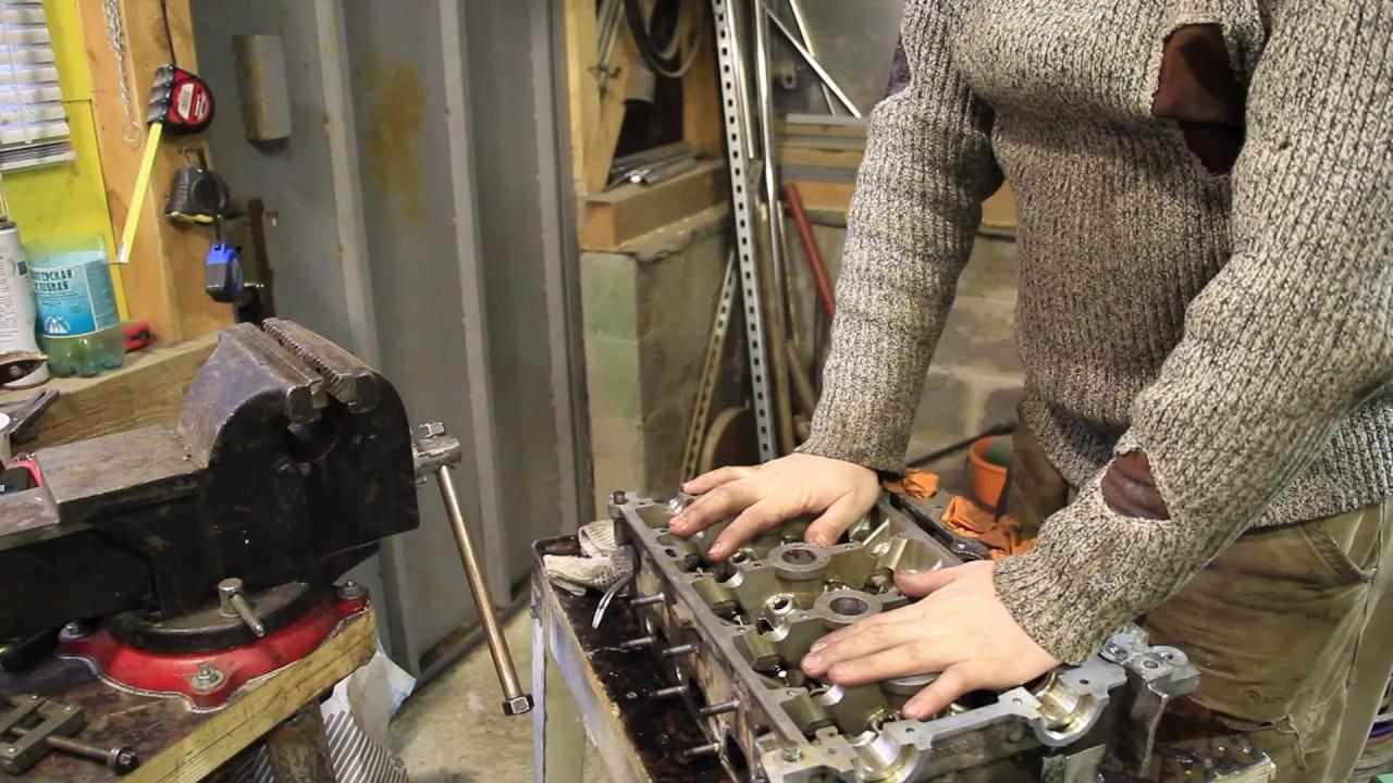 renault symbol кап ремонт двигателя