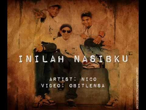 Nico Inilah Nasibku with lyrics