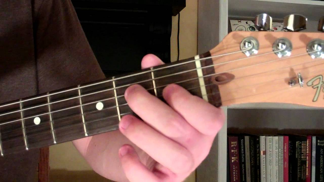 How To Play The E69 Chord On Guitar E Major 6th Added 9th Youtube