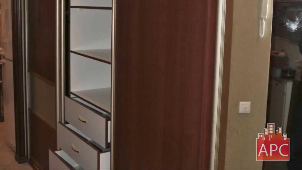 Шкафы купе в прихожей от мебельной фабрики арсеналстрой - yo.