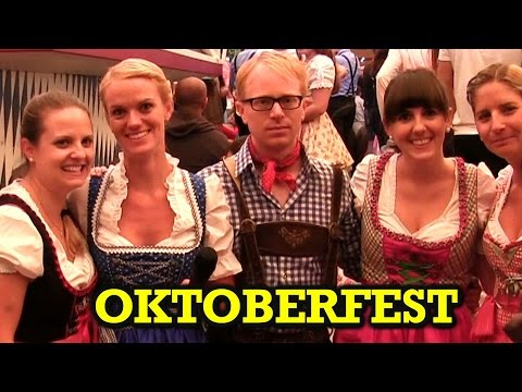 Joe Goes To Oktoberfest In Munich