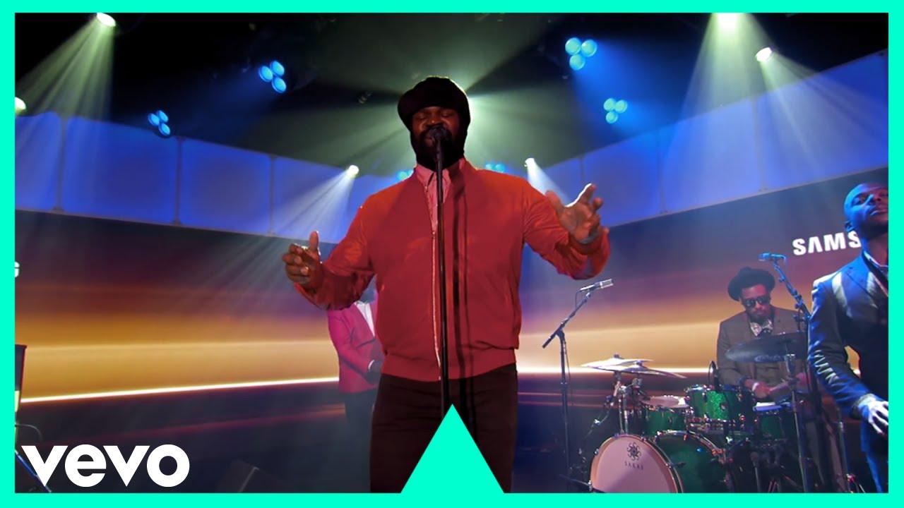 Gregory Porter - Holding On (Live On Jimmy Kimmel / 2016)