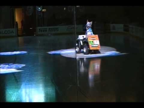 WALT~ The #1 Mascot in the NAHL~ 2011 Wenatchee Wild