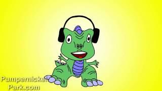 ABC Song - Dinosaur DJ Raps the ABC Song (Letters Version) - Alphabet Song Alphabet Letters ABC's