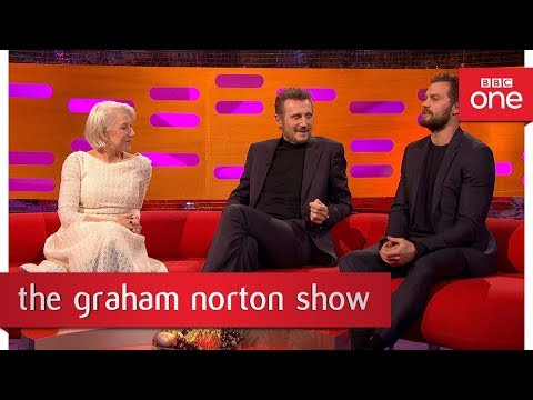 Jamie Dornan made himself some fake pubic hair   The Graham Norton   BBC One