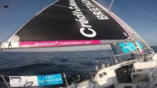 Vacation de Sébastien  sur la deuxième étape de la Solitaire 2015