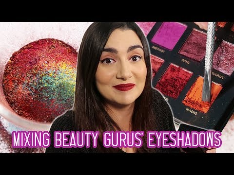 Mixing Every Beauty Gurus Eyeshadow Palette Together