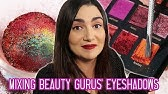 Mixing Every Beauty Guru's Eyeshadow Palette Together