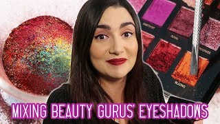 Mixing Every Beauty Guru\'s Eyeshadow Palette Together