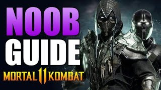Mortal Kombat 11 - NOOB SAIBOT Beginner&#39s Guide - All You Need To Know!