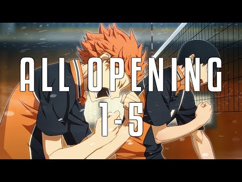 [ALL OPENING] Haikyuu!! 1-5 FULL