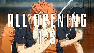 [ALL OPENING] Haikyuu!! 1-5 FULL
