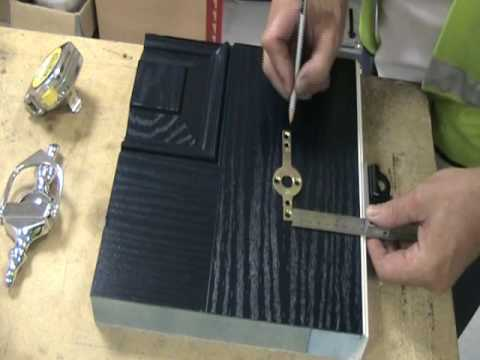 How to fit a Door Knocker : fit door - Pezcame.Com