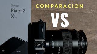 Comparacion pixel 2 xl vs canon eos M2