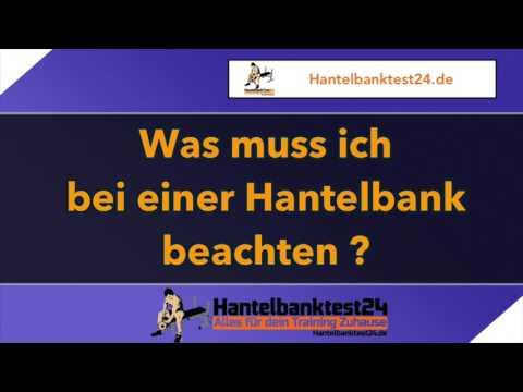 💪 Hantelbank Kaufen - Worauf muss ich achten?