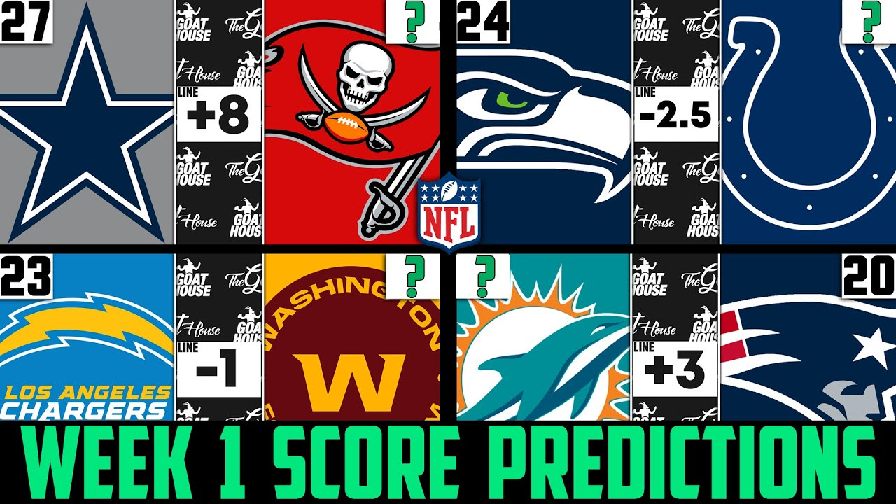 NFL Week 1 Picks Against the Spread and Predictions