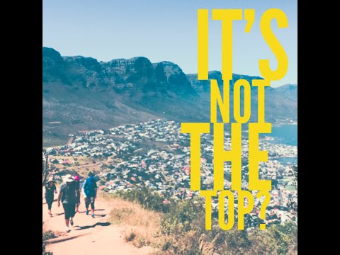 Lions Head Hike in Cape Town