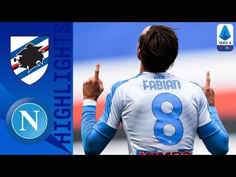 Sampdoria 0-2 Napoli | Ruiz e Osimhen battono i blucerchiati | Serie A TIM