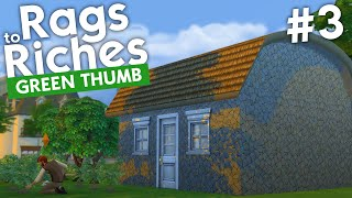 The Sims 4 - Rags to Riches: Green Thumb (Part 3)